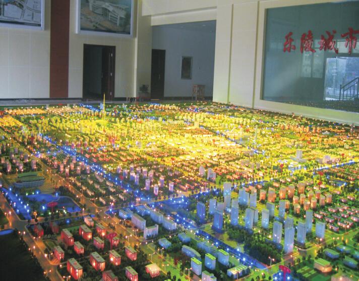 乐陵城市规划高档模型制作