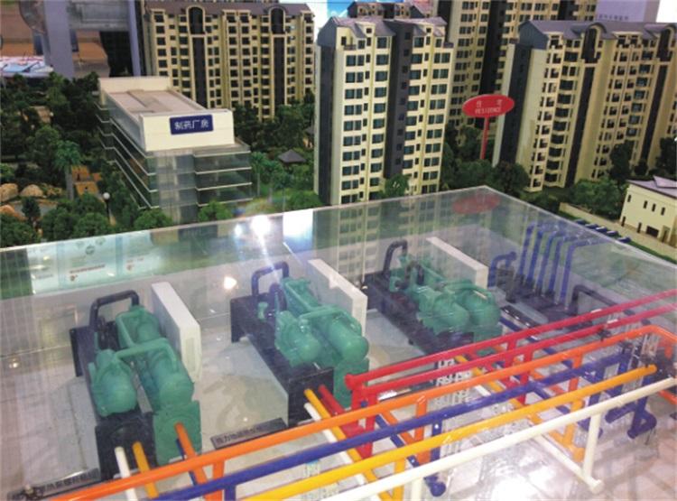格力公司中央空调工业模型制作