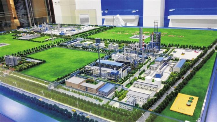中海油公司工业模型制作
