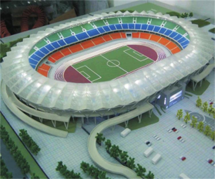 体育场单体模型